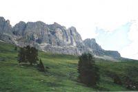 Catinaccio Rosengarten Dolomites. Italy.