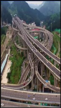 One of China's most complex interchanges