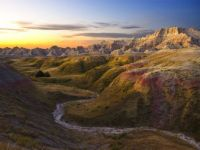 sunrise-badlands-park