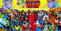 Theme #3: Comic Book Covers: Infinity War #1 (June, 1992)