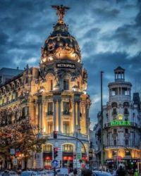 Metropolis Building , Madrid, Spain.  6061