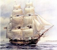 "Sailing Ship ""Chesapeake"""
