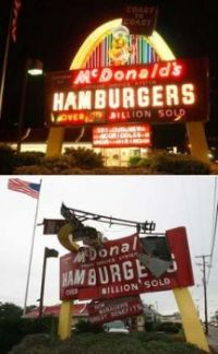 Biloxi McD's Before and After Katrina