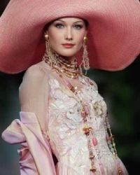 WEDDING THEMES:  rose gown