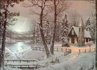 snowy evening