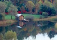 Theme: Farm Buildings - Bathing and Boat House in Vermont