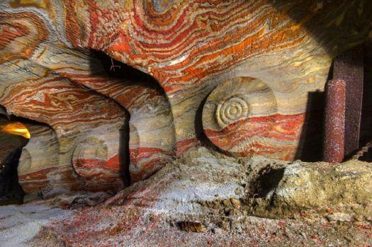Abandoned Yekaterinberg salt mine