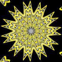 102517 Yellow and Black Kaleido