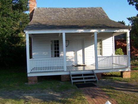 1740's house in Beaufort, NC.  This is the second oldest town in NC