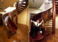 The unusual slider staircase