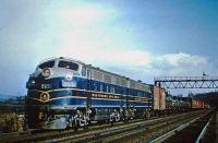 B&O train 1957