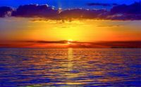 4 ~ Golden Sun Gliding into the Blue'