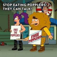 Stop eating popplers