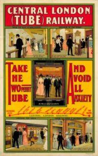 central London tube railway 1905