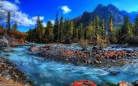 Autumn River Island