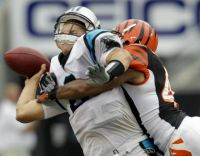 clausen hit bengals crocker