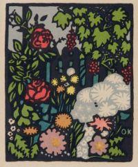 Postcard, Wiener Werkstätte (Vienna Workshops) , designer, Oskar Kokoschka, artist, c. 1905–1910
