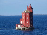 Norwegen / Norway: Leuchtturm / Lighthouse Kjeungskjær Trondheimsfjord