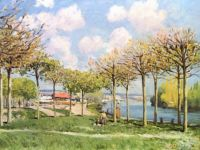 The Seine at Bougival - 1876