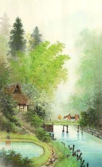 watercolor painting by koukei kojima
