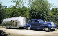 1937 Cadillac and Airsteam Clipper