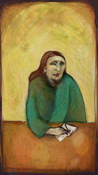 The poet  ( digital drawing )