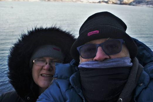 A bit cold in Kirkenes