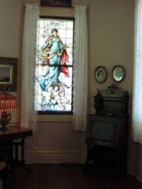 Stained Window in the Music Room