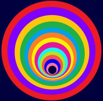 Not Concentric Circles (Smaller)