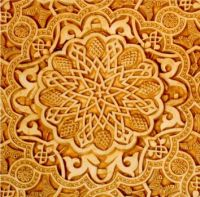 Carving in the Alhambra - Spain