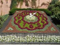 Blumenuhr - sluneční hodiny