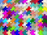 Puzzle of a puzzle small
