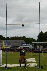 56lb weight over the bar....Abernethy Highland Games 2013