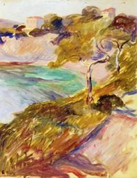 Edvard Munch, Trees by the Mediterranean (1892)