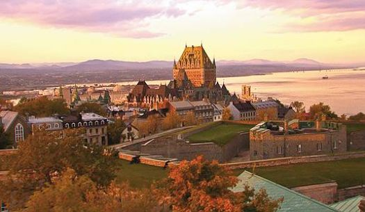 Panoramic view of Quebec City