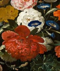 Floral Painting Detail