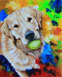 Golden Retriever Commission