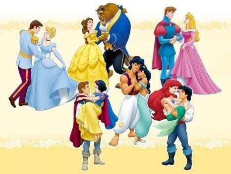 Princesses-and-their-Prince