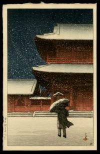 Night Transverse through Snow