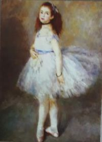 """The Dancer""   Auguste Renoir       National Art Gallery of Art, Washington   Widener Collection"