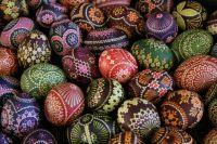 Sorbische Ostereier aus Schleife