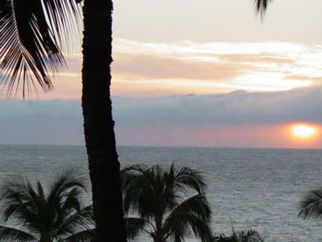"Sun is ""going to bed"" - Maui, Hawaii"