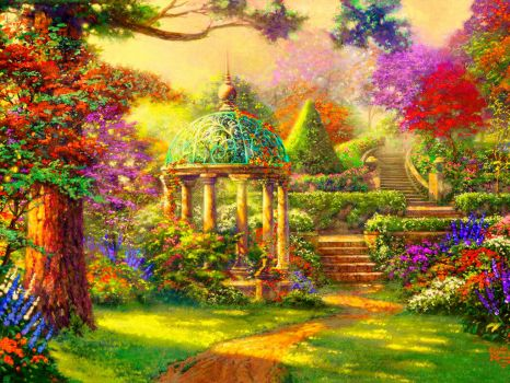 Colorful Gazebo