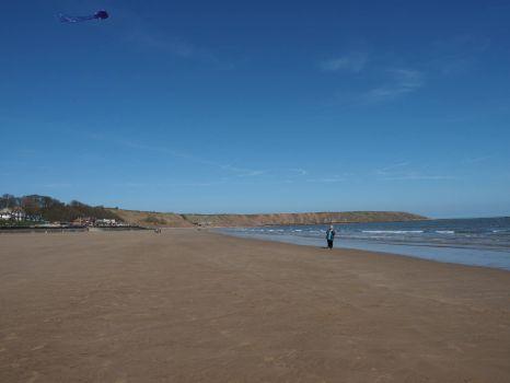 Filey Beach - HUGE!