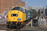 BR Type 4 Class 40 40145 East Lancashire Railway.