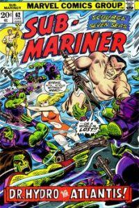 The Sub-Mariner vs Dr. Hydro