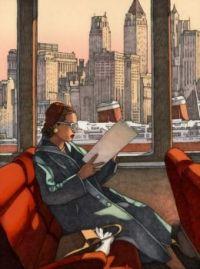 Miles Haman, New York reading