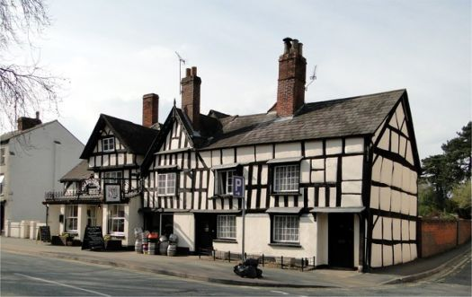 The Chequers Inn, Etnam Street, Leominster, Herefordshire.  Photo by Philip Pankhurst
