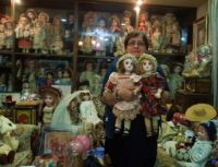 Collection Of Antique Dolls, Wish I could Say This Was Me And Those Dolls Were In Our Collection.........