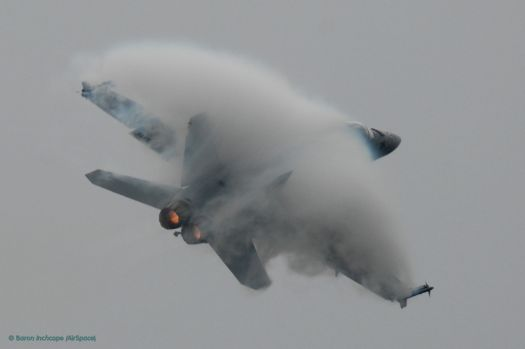 FA-18 Super Hornet breaking the sound barrier